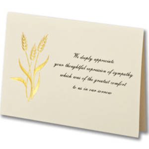 Acknowledgment Cards